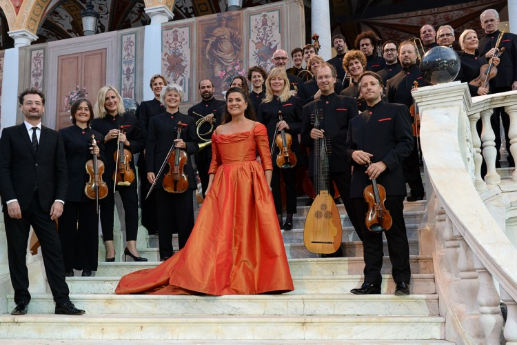 Cecilia Bartoli and the Les Musiciens du Prince of Monte Carlo © 2018 Alain Hanel,OMC