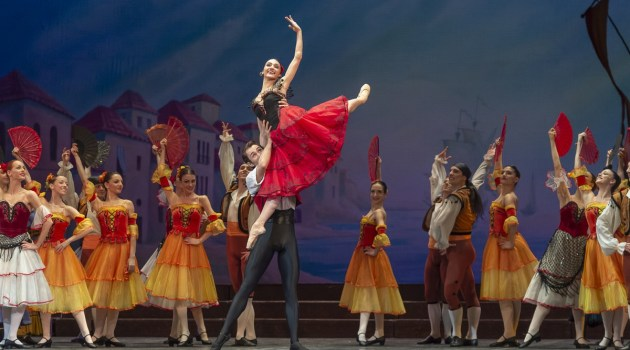 Claudia D'Antonio in Don Quixote, photo by Francesco Squeglia