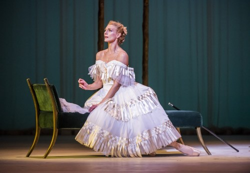Zenaida Yanowsky as Marguerite in Marguerite and Armand. © ROH, 2017. Photographed by Tristram Kenton.