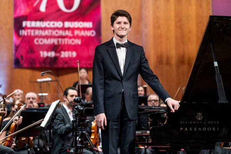 Emanuil Ivanov, Busoni 2019, photo by Tiberio Sorvillo