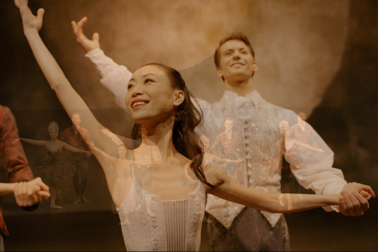 Empty Stage, Birmingham Royal Ballet Principals Mathias Dingman and Momoko Hirata ©Impermanence