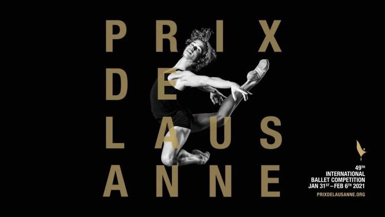 Prix de Lausanne 2021 Poster Boy