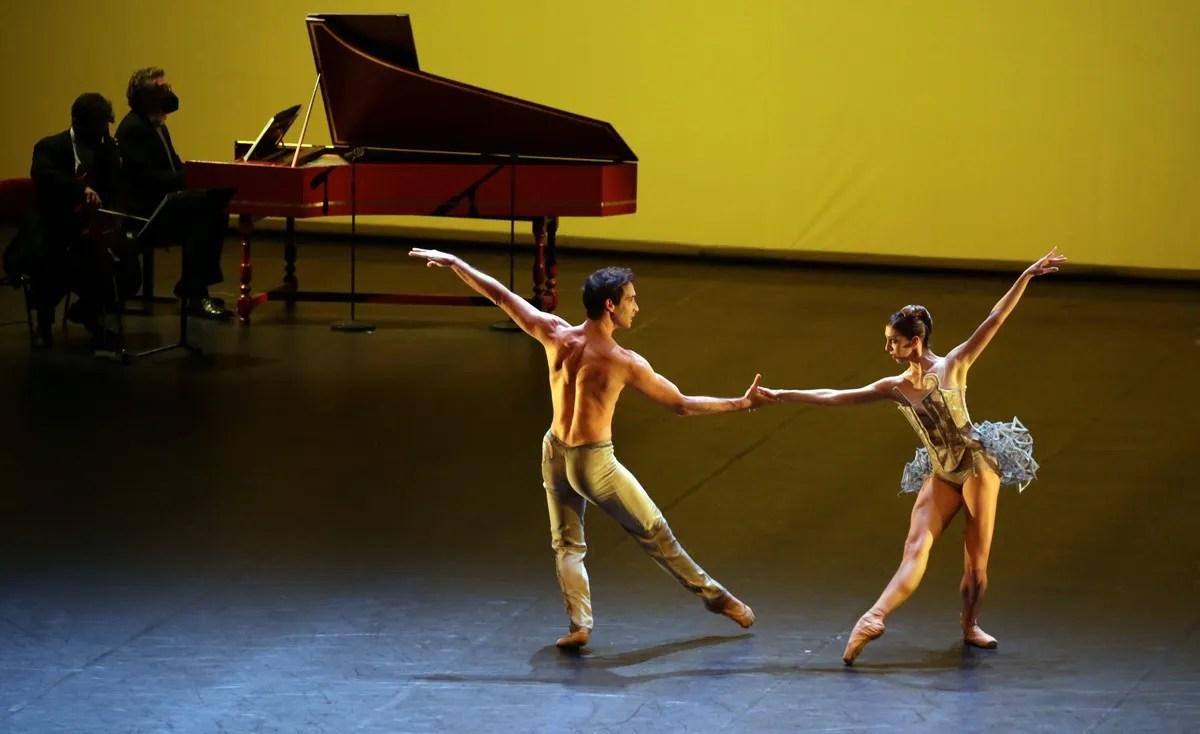 Progetto Haendel with Maria Celeste Losa and Gabriele Corrado, photo by Brescia e Amisano ©Teatro alla Scala