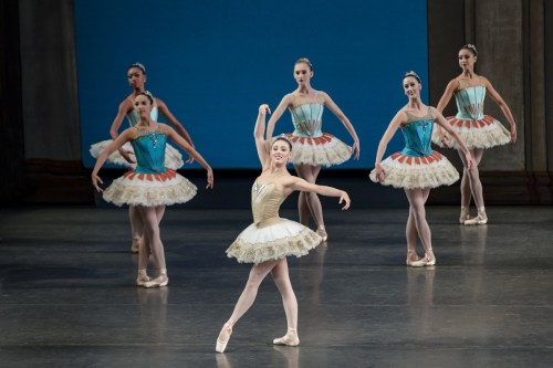 Tiler Peck performing George Balanchine's Theme and Variations. Credit Paul Kolnik