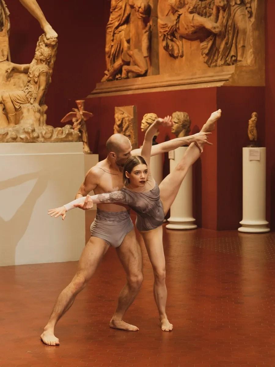 Dancers - Ancient Greece Art Hall - choreographer Konstantin Semenov 1