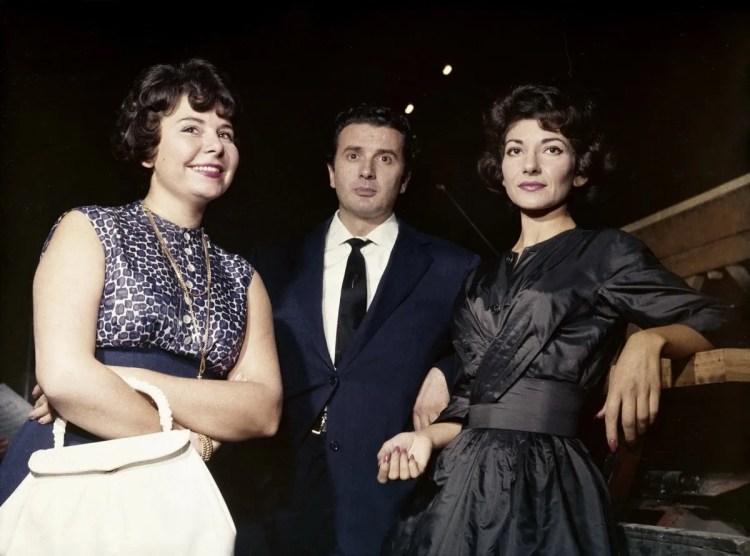 1960 recording of Norma with Franco Corelli and Maria Callas, photo by Erio Piccagliani © Teatro alla Scala