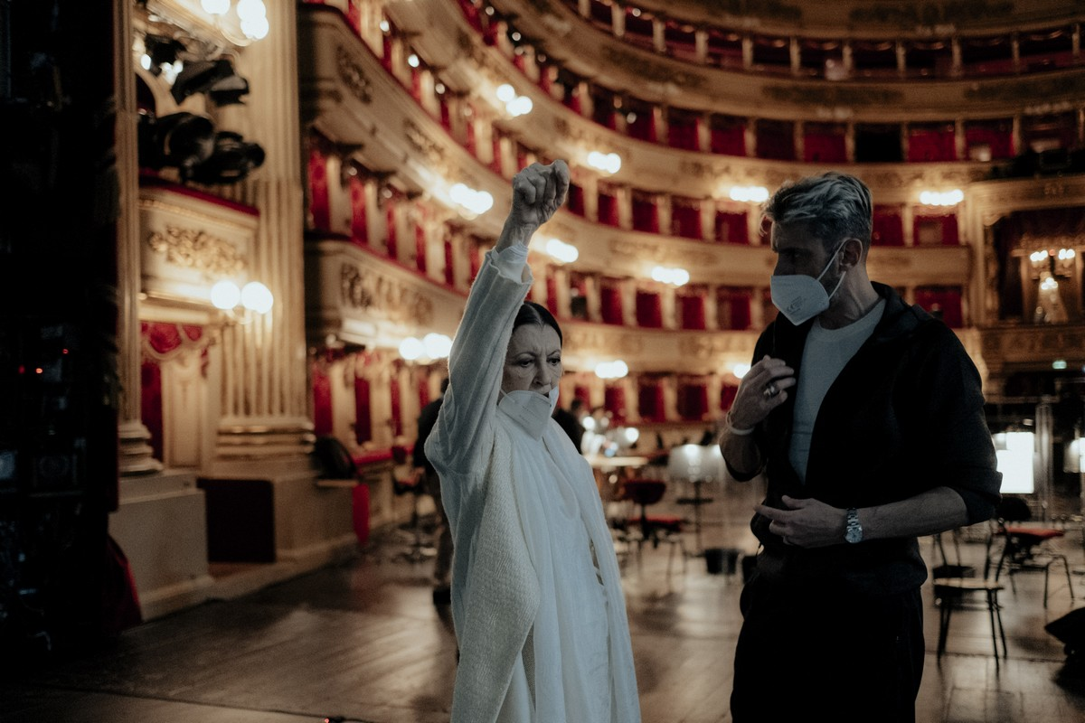 Carla Fracci and Massimo Murru - photo by Sara Busiol 336