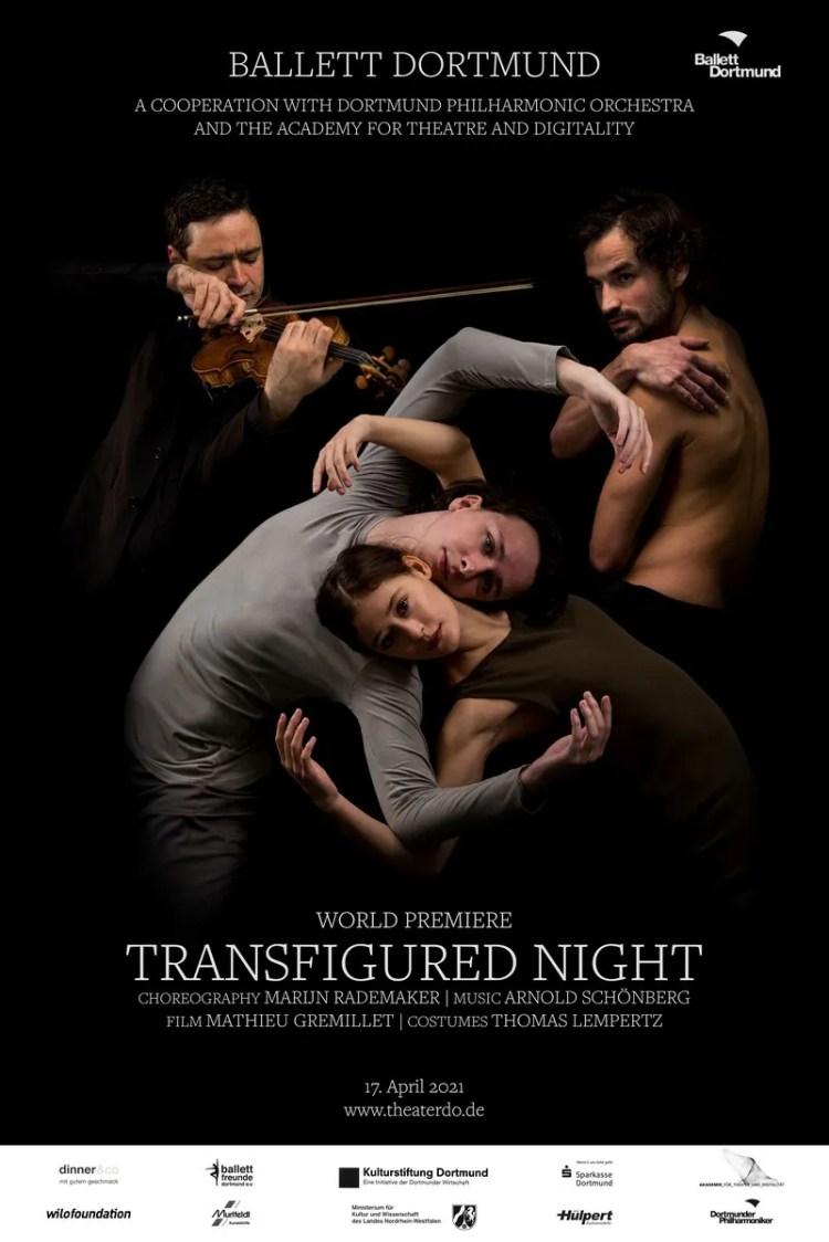 Transfigured Night - Ballett Dortmund, photo by Leszek Januszewski