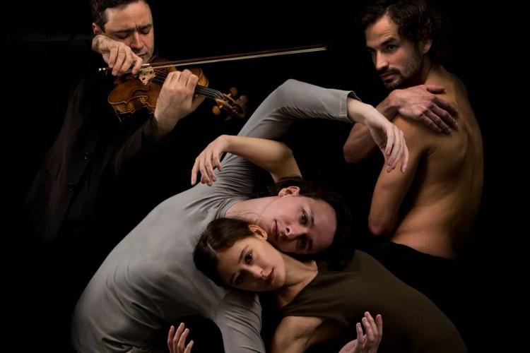 Transfigured Night - choreography by Marijn Rademaker, photo by Leszek Januszewski, Ballett Dortmund 2021