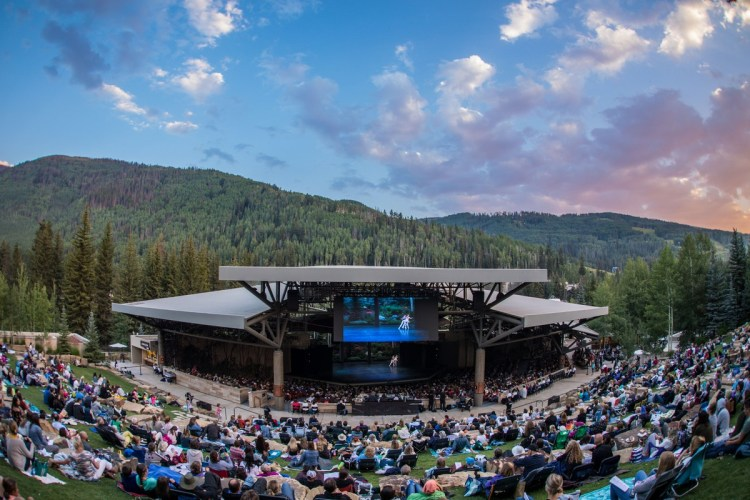 Vail Dance's Gerald R Ford Amphitheater - photo by John-Ryan Lockman