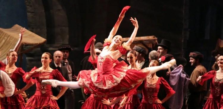 Virna Toppi as Kitri, photo by Brescia e Amisano, Teatro all Scala