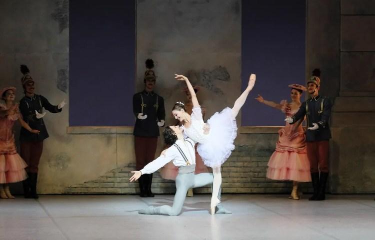 Virna Toppi in Coppélia with Sergei Polunin, photo by Gherciu Serghei, Bavarian State Ballet 2019
