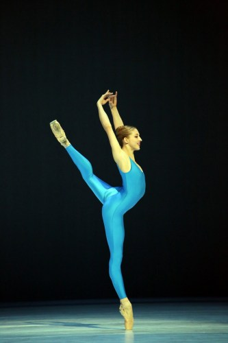 Virna Toppi in Heinz Spoerli's Goldberg Variations, photo by Brescia e Amisano, Teatro alla Scala