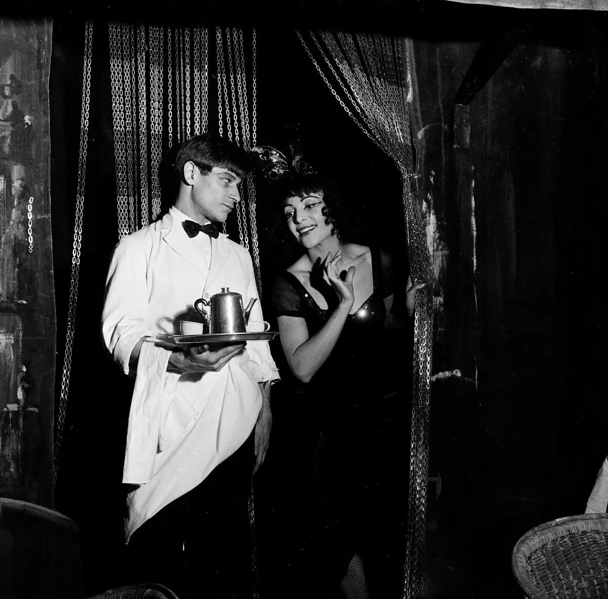 1956 Luciana Novaro in Mario e il mago with Jean Babilée, photo by Erio Piccagliani © Teatro alla Scala