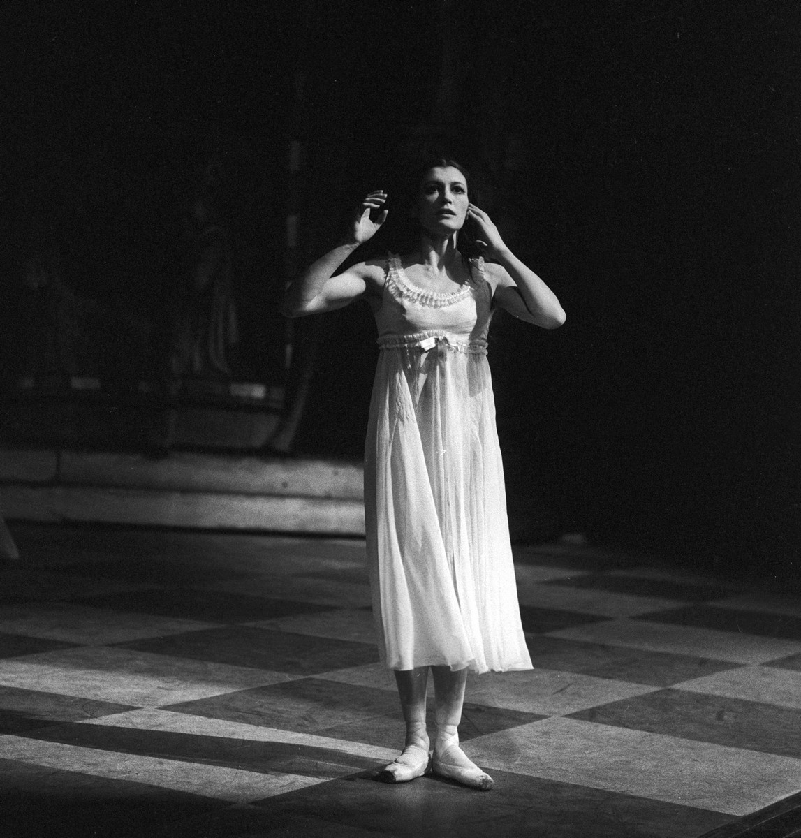 Carla Fracci as Juliet at La Scala in 1968, photo by Erio Piccagliani