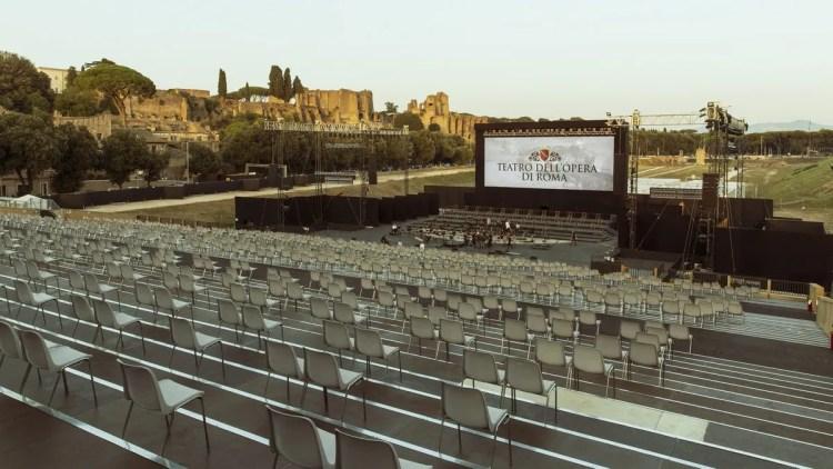 Circo Massimo, Opera di Roma, photo by Yasuko Kageyama, Teatro dell'Opera di Roma 2020