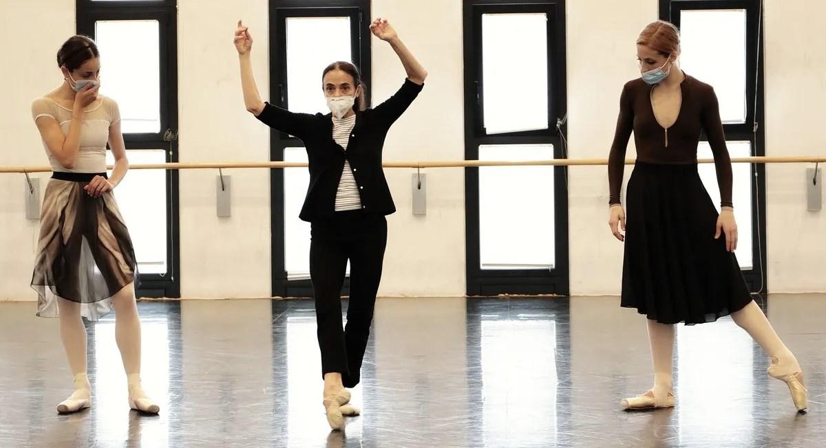 Masterclass - Alessandra Ferri with Nicoletta Manni, Virna Toppi - photo by Brescia e Amisano ©Teatro alla Scala-01