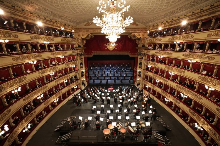 Reopening concert, photos by Brescia e Amisano ©Teatro alla Scala