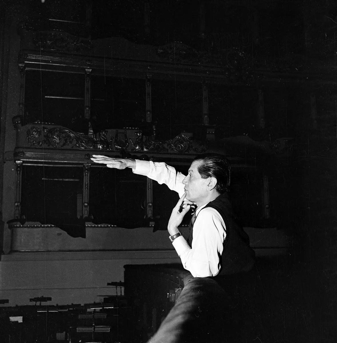 Serge Lifar - photo by Erio Piccagliani © Teatro alla Scala