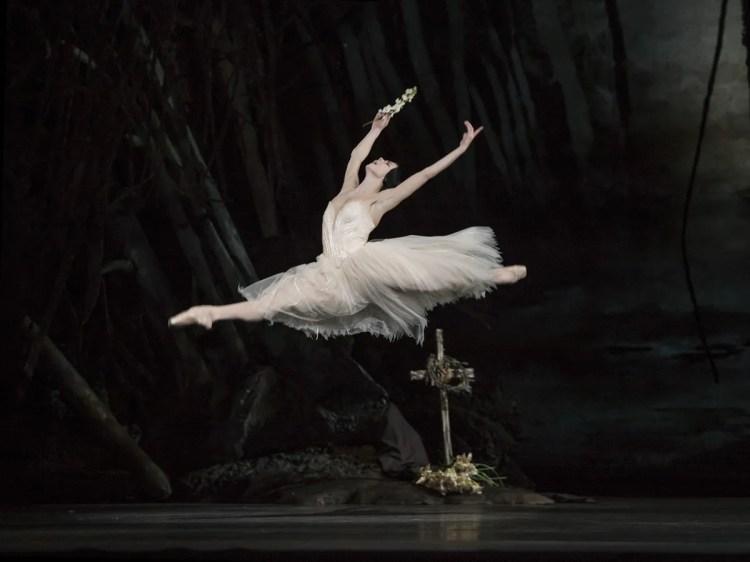 Natalia Osipova as Giselle in Giselle © ROH Bill Cooper 2014