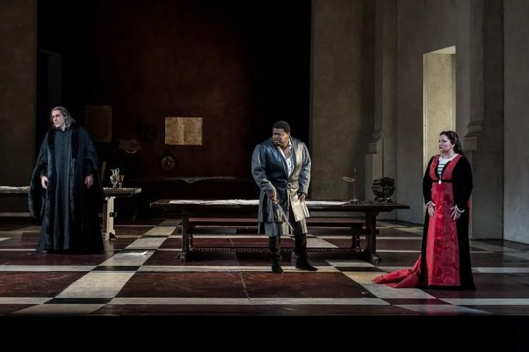 Russell Thomas as Gabriele Adorno in Simon Boccanegra © ROH Clive Barda, 2013