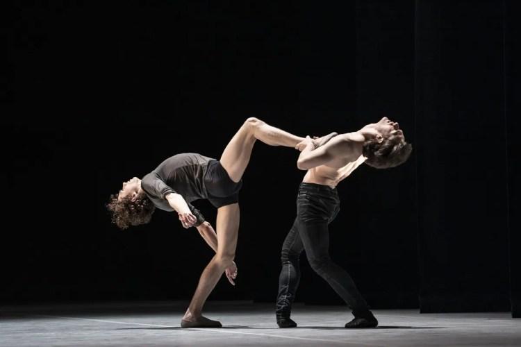 Jacopo Bellussi and Alessandro Frola in Peter and Igor, Nijinsky Gala, Hamburg 2021 30 © Kiran West