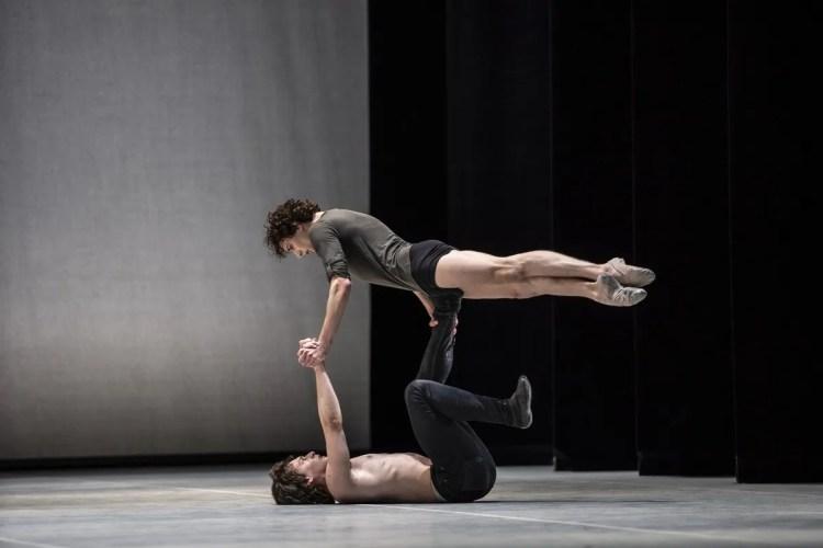 Jacopo Bellussi and Alessandro Frola in Peter and Igor, Nijinsky Gala, Hamburg 2021 35 © Kiran West
