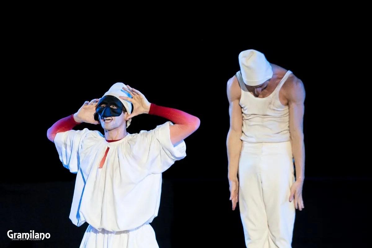 Sasha Riva and Simone Repele in Pulcinella © Graham Spicer