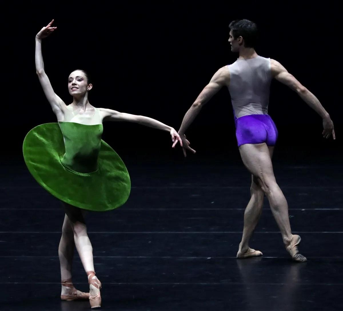 THE VERTIGINOUS... Gaia Andreanò, Nicola Del Freo, photo by Brescia e Amisano ©Teatro alla Scala
