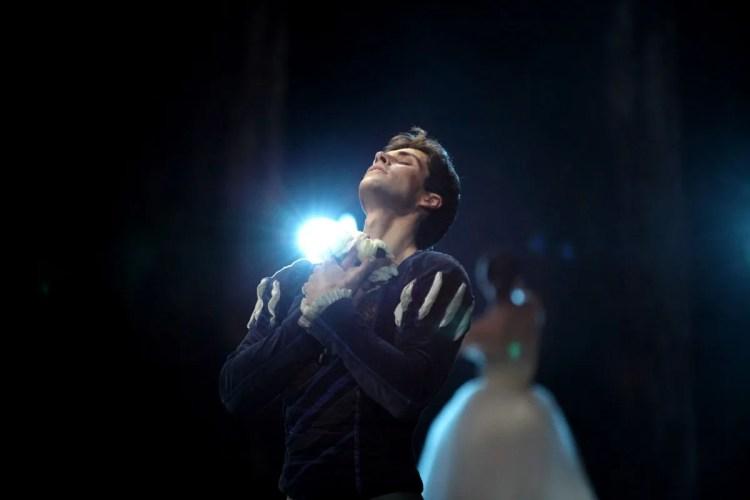 Roberto Bolle in Giselle, photo by Marco Brescia, Teatro alla Scala