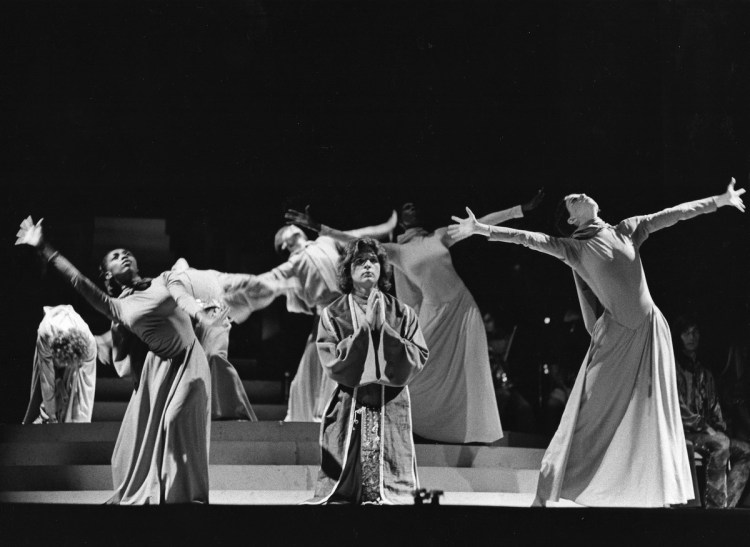 Bernstein MASS 1971 production 2 (by Fletcher Drake) Courtesy of the Kennedy Center Archives
