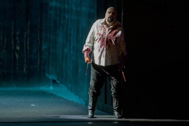 Sebastian Catana as Macbeth, Teatro Lirico Caglieri