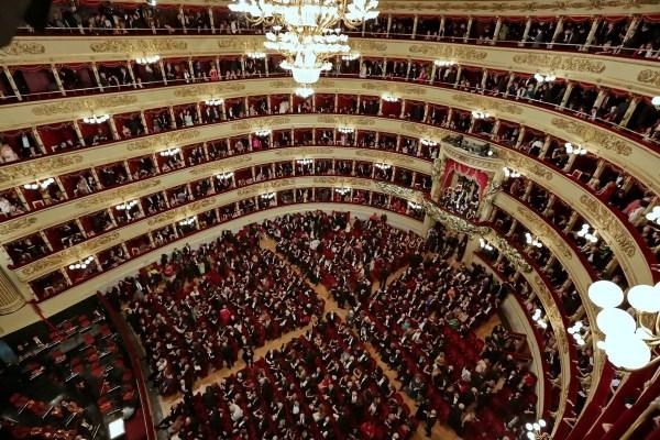Italian theatres return to 100% capacity