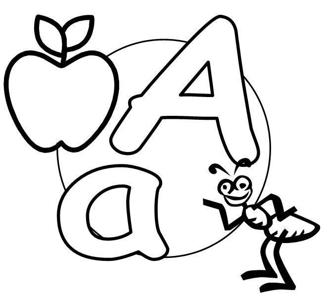the letter a a the english alphabet grammar