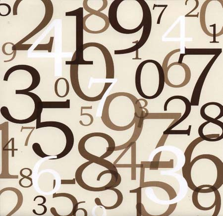 The Numbers in English