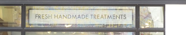"Not sure about the ""treatments,"" but I like the ""handmade."""