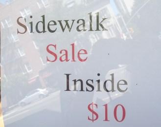 A sidewalk inside?