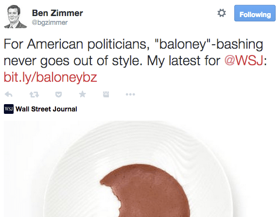 Ben Zimmer Tweet Sample