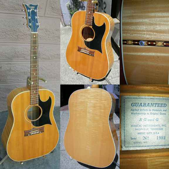The Last Grammer Guitar made by RG&G