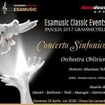 Concerto sinfonico orchestra Oblivion – Pasqua 2017 Grammichele