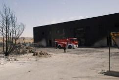 Rientrato il periodo di allarme dopo l'incendio a Kalat Impianti Srr