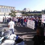 Manifestazione presso l' ITC di Grammichele, su vivibilità e sicurezza