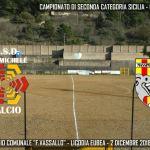 Grammichele Calcio – Quinto k.o. tra luci ed ombre: prodezza di D'Amanti ma vince la Massiminiana.