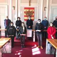 Grammichele: la fondazione UMANA GIANDINOTO, consegna le borse di studio simbolicamente a 4 studenti