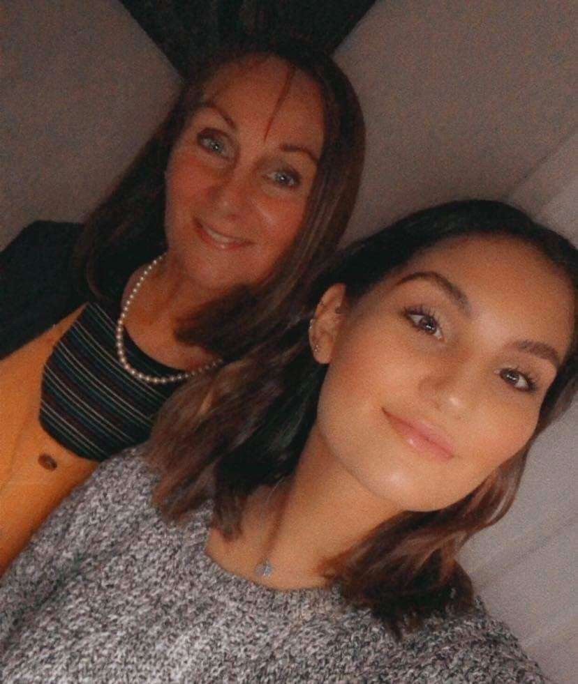 Carole Fortune and her daughter Jade.