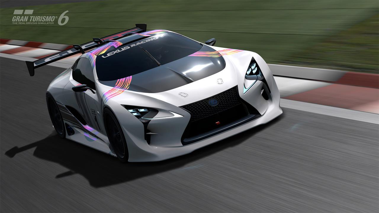 Lexus Lf Lc Gt Vision Gran Turismo Revealed Gran