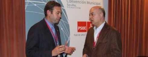 Alcalde de San Sebastian en una conferencia municipalista anterior