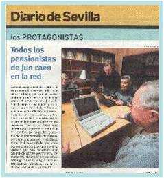 Jose Ortega conmigo el día de la Declaración de Internet en Jun