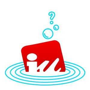 IU Logo hundido