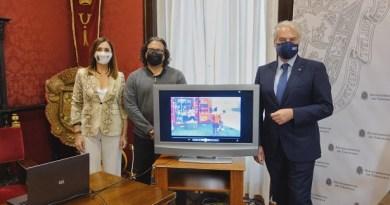 EL AYUNTAMIENTO SE APUNTA A LA INNOVACIÓN EN EL DEPORTE CON LA COLOCACIÓN DE UN 'CUBOFIT'.